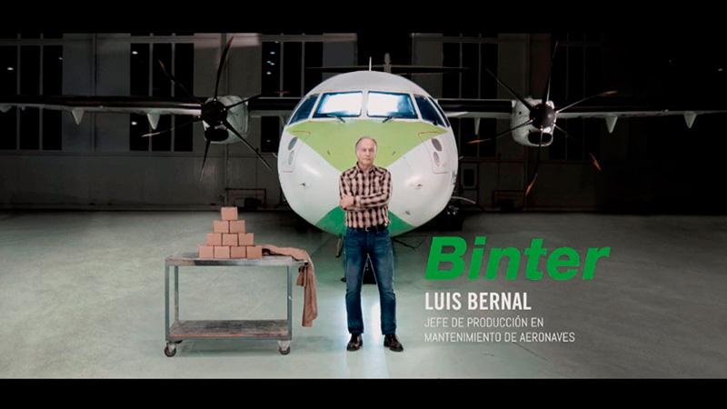 Binter ERA Award Spot