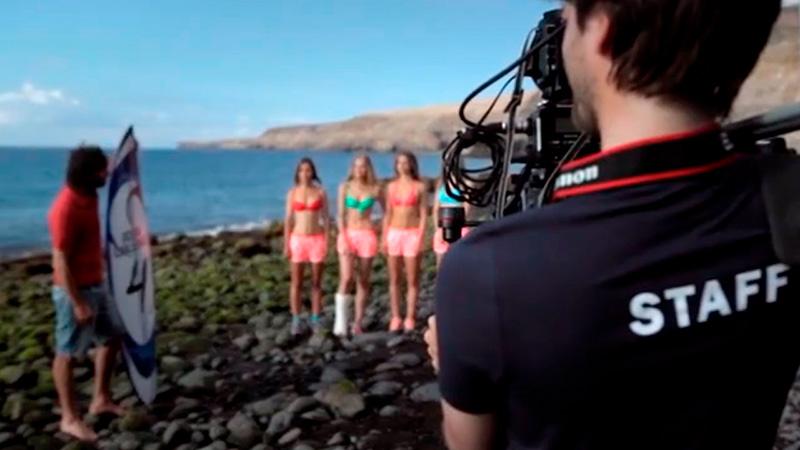 Calzedonia Ocean Girls 4th episode making of